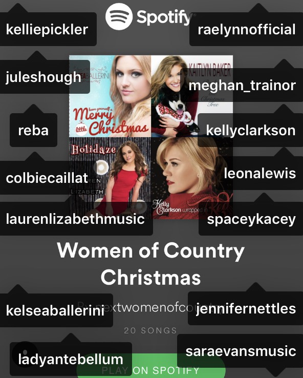 Holidaze Spotify Country List