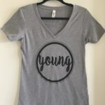 'Young' Women's T-Shirt